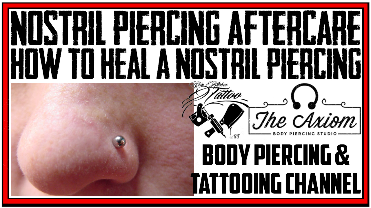 Basic Aftercare Instructions Axiom Body Piercing Studio