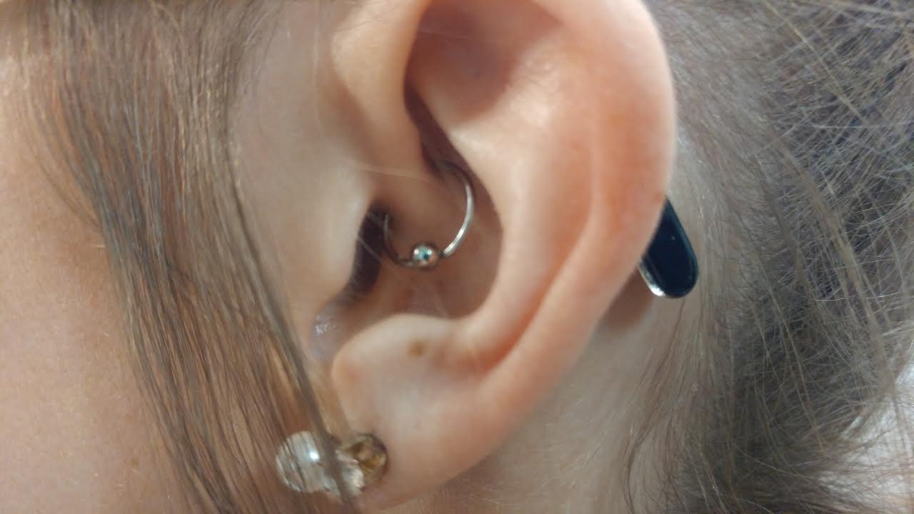 Ear Lobe Piercings Beaten To Death Axiom Body Piercing Studio