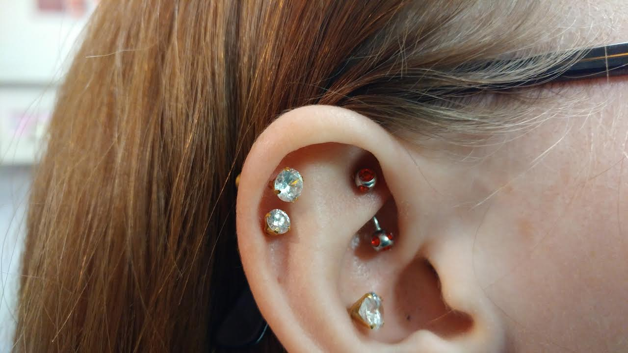 Rook Piercing Beaten To Death Axiom Body Piercing Studio