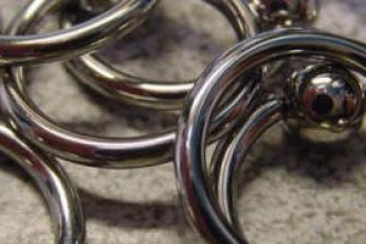 Clit hood piercing hook