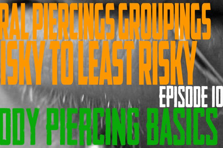 The Bites - Oral Piercing Groups Most Risky to Least Risky - Body Piercing Basics EP102 - https://youtu.be/9CSEJ_s06vo