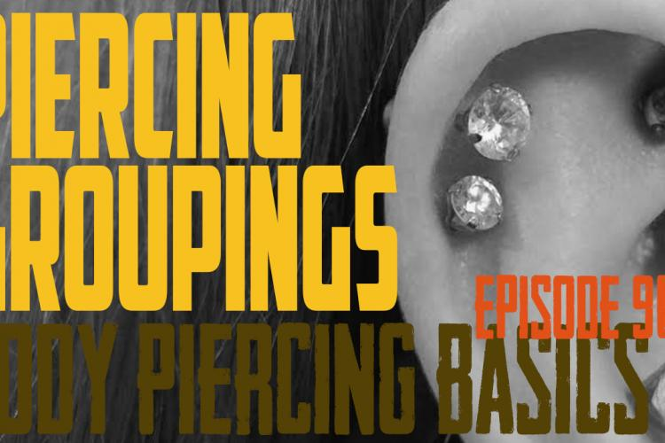 Planning and Getting Piercing Groupings - Body Piercing Basics EP90 - https://youtu.be/T8shRC6ZaNs