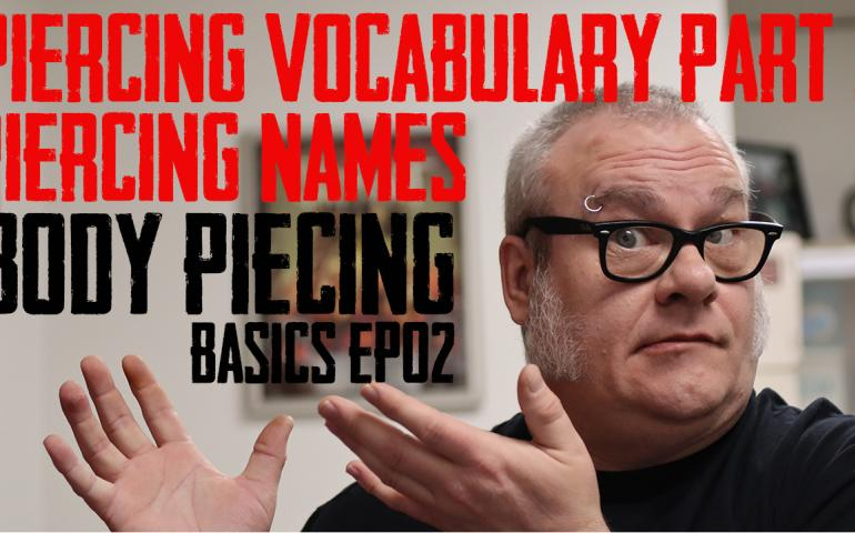 In the Second Episode of Body Piercing Basic, DaVo continues to focus on vocabulary by covering Every Piercing Alphabetically