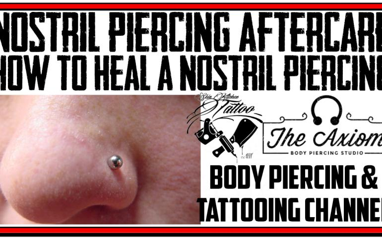 Nostril Piercing Aftercare Instructions Video