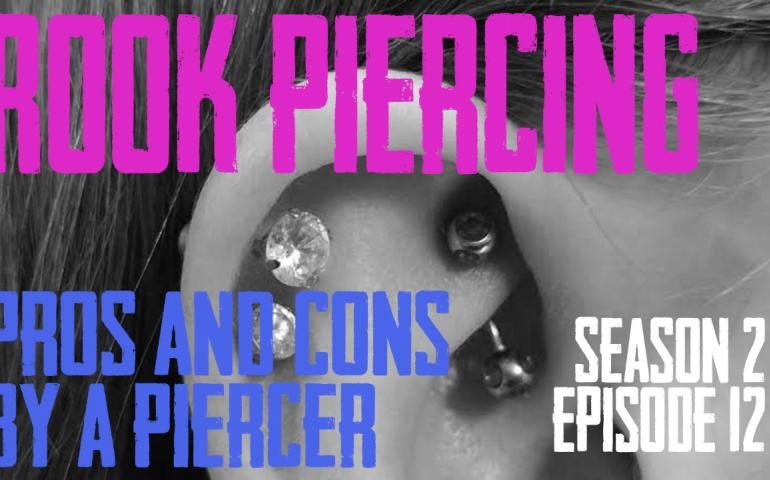 2021 Rook Piercing Pros & Cons by a Piercer - S02 EP12 - https://youtu.be/pUUGUj2iJYY
