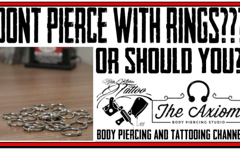 Video on the Advantages and Disadvantages of Piercing with Rings and Circular Jewelry