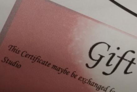Axiom Gift Certificates