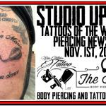 Tattoos of the Week, Body Piercing News and $15 Piercing Special - Studio Update for Nov. 1st, 2018