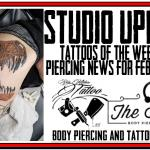 Tattoos of the Week from Jack Lowe and Westley Dickers and Piercing News from DaVo