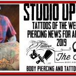 Tattoos of the week and Piercing News for April 12th, 2019