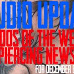 Tattoos of the Week, Piercing and Content News - Studio Update #75 for December 6th, 2019 - https://youtu.be/gzt5KPk8k1c