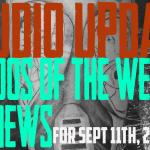Tattoos of the Week, Piercing & Content News. Studio Update for Sept. 11, 2020 #112 - https://youtu.be/dNSdoOkZOj4
