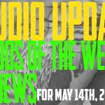 Studio Update #143 Tattoos of the Week, Piercing & Content News May 14th, 2021 - https://youtu.be/gikSRSAihEc