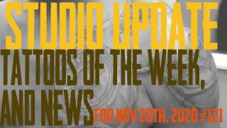 Tattoos of the Week, Piercing & Content News - Studio Update #121 - https://youtu.be/DB-6LgsfwmU