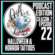 Halloween and Horror Tattoos - Q&A in the Kitchen Podcast S02 EP22