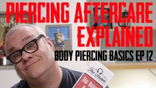 Body Piercing Aftercare Explained, an indepth discussion on the reasoning, thinking and background of what is suggested to heal a piercing