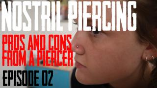 Nostril Piercing Pros and Cons from a Piercer Video
