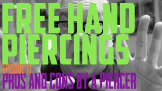 Freehand Piercing Pros & Cons by a Piercer EP 71 - https://youtu.be/zQva9HIxG4M