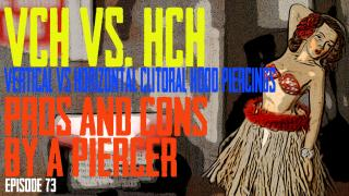 VCH Vertical Clitoral Hood Vs  HCH Horizontal Clitoral Hood Piercing  Pros & Cons by a Piercer EP73 - https://youtu.be/dUeHAT07Yf4